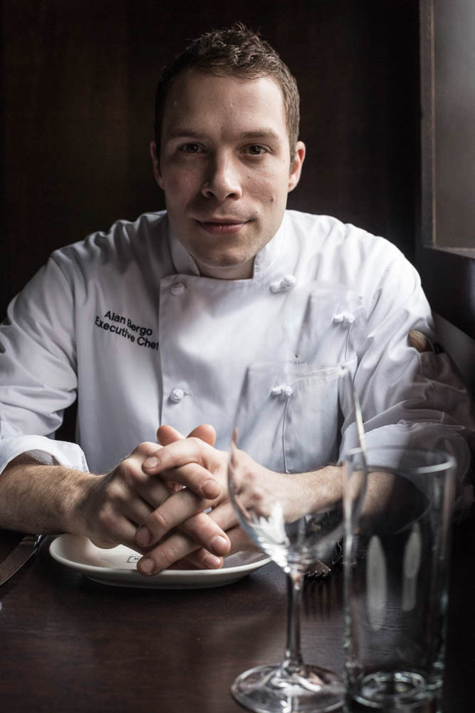 Chef Alan Bergo, portrait