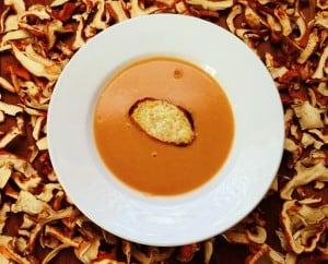Wild Lobster Mushroom Bisque