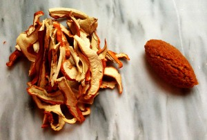 Dried Lobster Mushroom Duxelles