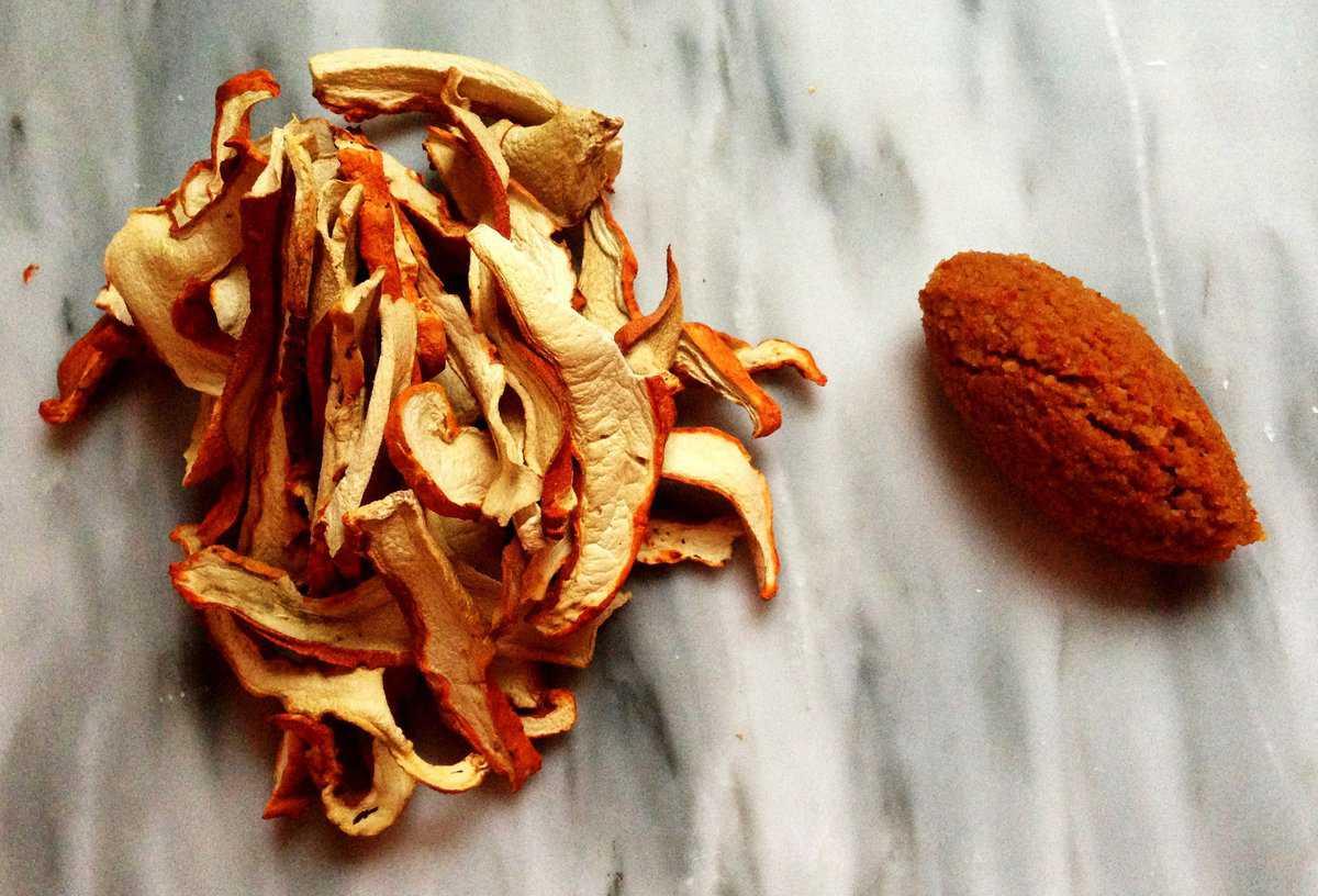 dried lobster mushroom duxelles recipe