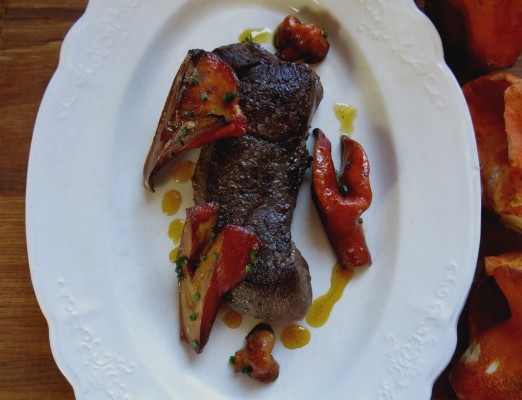 lobster mushrooms recipe venison steak