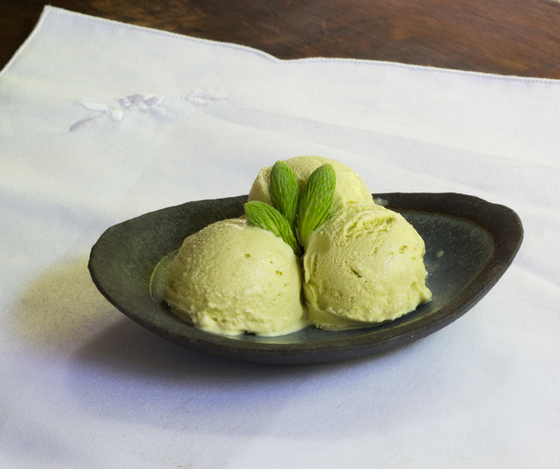 blue spruce ice cream