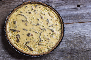 Roger Verge's Morel Quiche