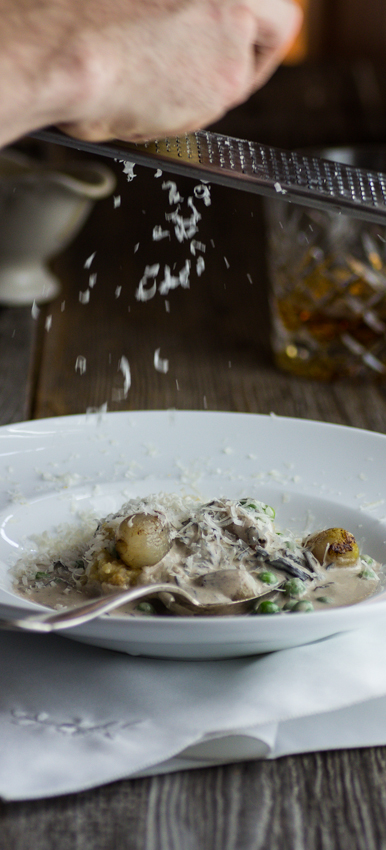 black trumpet mushroom polenta recipe