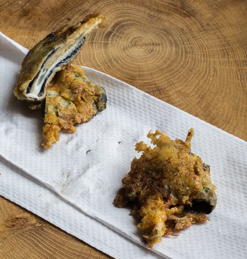 parmesan crusted shaggy manes_-4