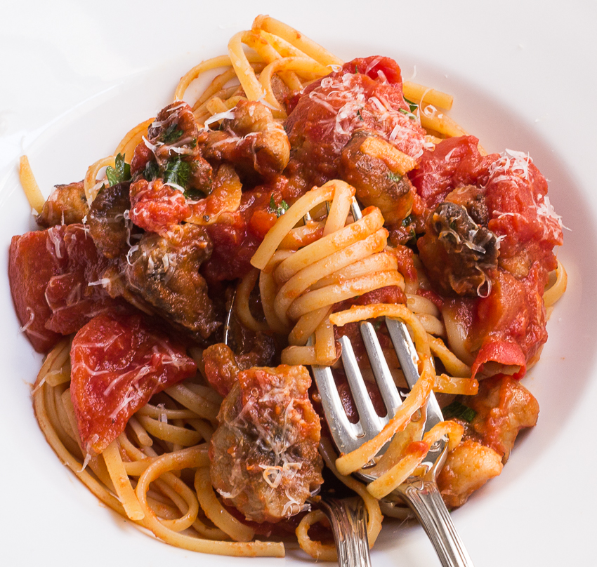 Fra diavolo sauce with pasta recipe - Pasta man recipes