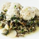 slippery jack mushroom gnudi recipe