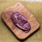 bison steak, bison ribeye