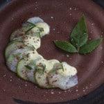 Scallops Crudo With Wild Peppercorn Sauce And Sumac_