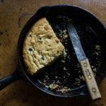 Wild Blueberry-Bacon Fat Cake