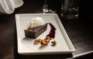 Flourless Chocolate-Black Walnut Torte