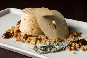 Frozen Crabapple Mousse