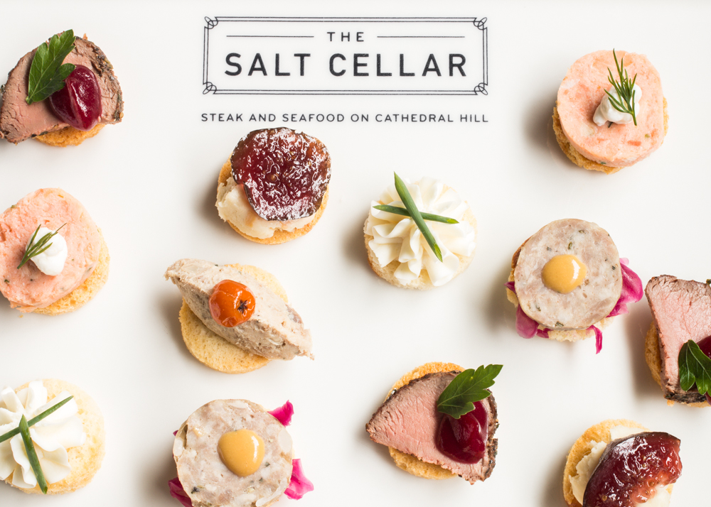 Salt Cellar Canapes_