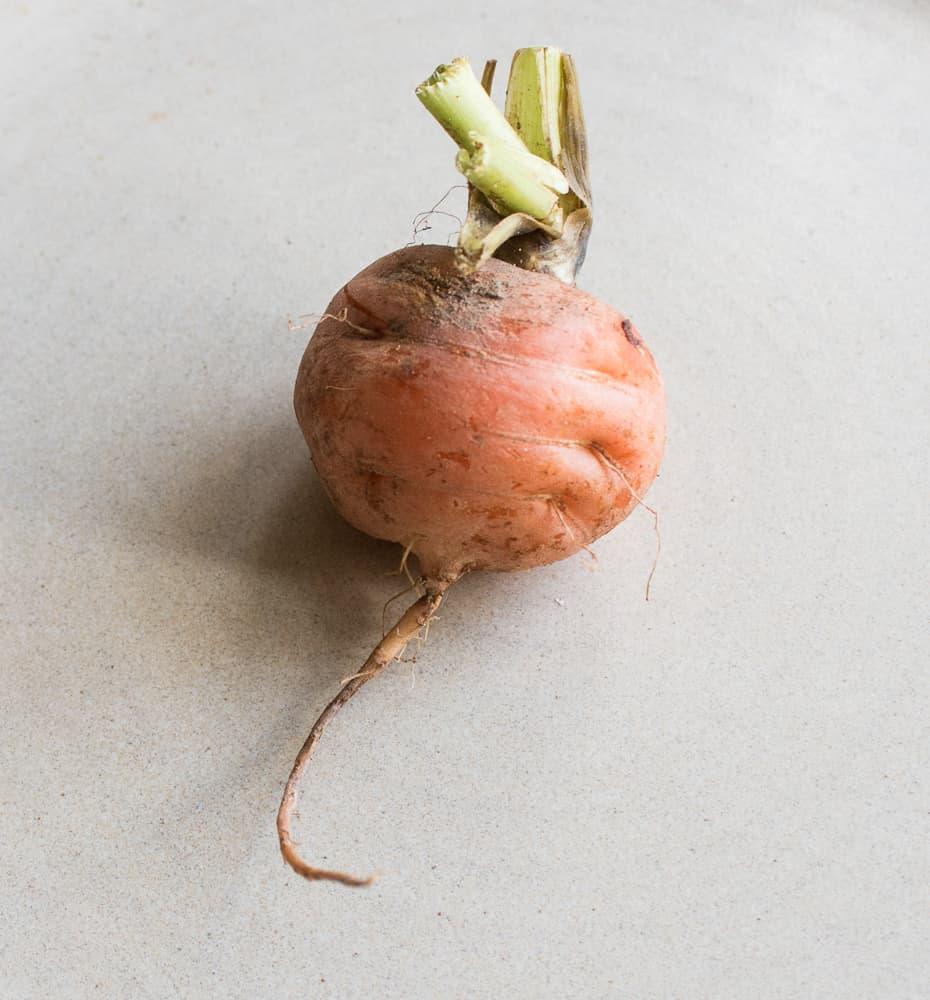 Vegetable Confit With Hedgehog Mushrooms