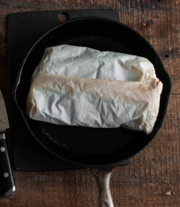 Matsutake Mushrooms Baked in Parchment