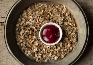 Fresh Cranberry Sauce with Cow Parsnip Seeds and Warm Spices_