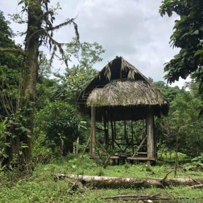 Indigenous buildings in Costa Rica
