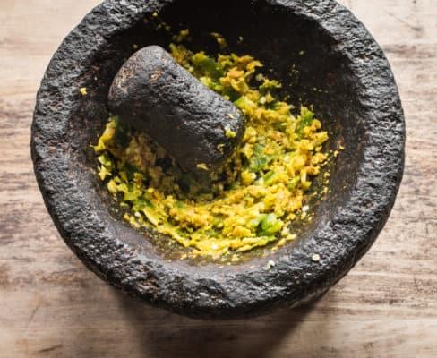 Saag Paneer with amaranth