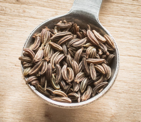 Foraged caraway seed