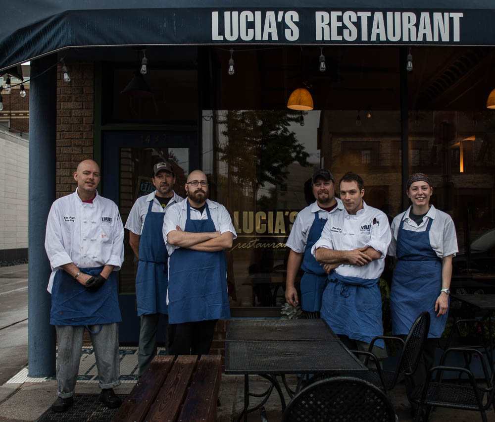 closing lucia's restaurant chef alan bergo