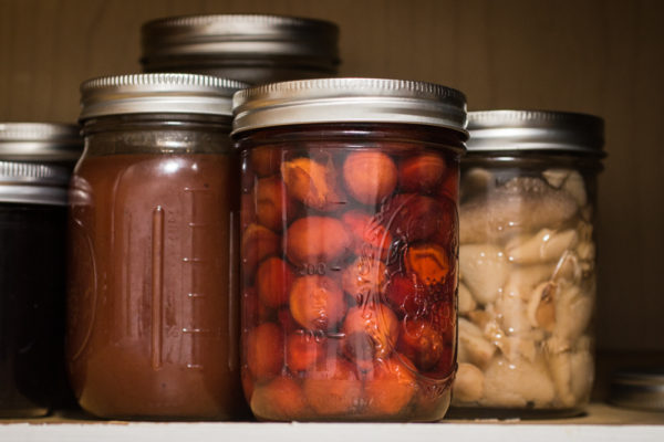 Candied canned wild plums recipe