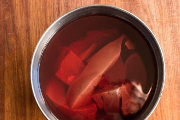 Soaking venison liver to calm the flavor