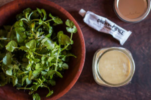 Simple anchovy vinaigrette recipe