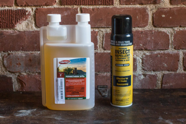Permethrin insecticide spray and concentrate