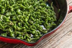 Ramp Leaf Spaetzle Recipe