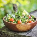 Purslane and sweet corn salad recipe