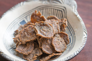 Wild rice flour crackers recipe