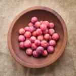 Wild plums Prunus americana