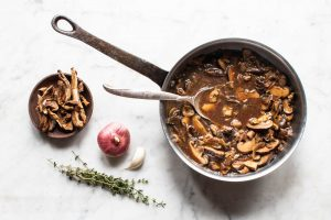 Dried wild mushroom ragu recipe with dried boletes