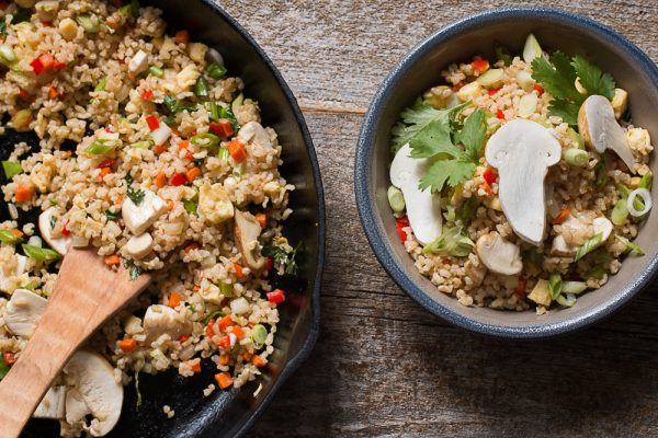 Matsutake mushroom recipe fried rice