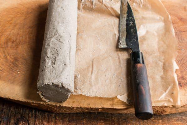 shaggy mane mushroom ink compound butter