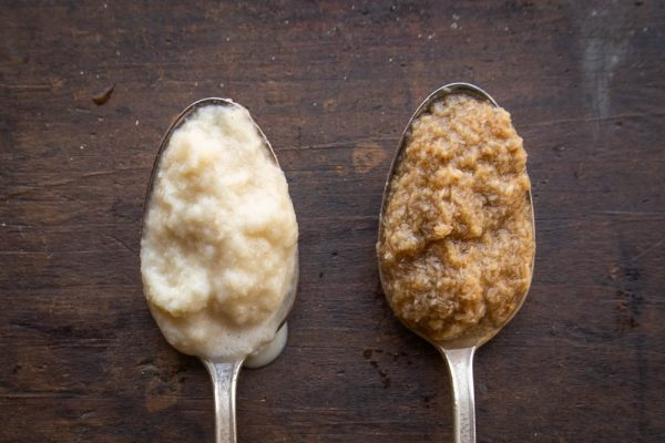 horseradish comparison between scratch made and store-bought